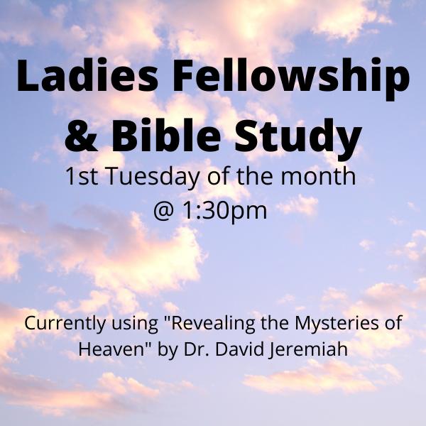 Ladies Fellowship Bible Information